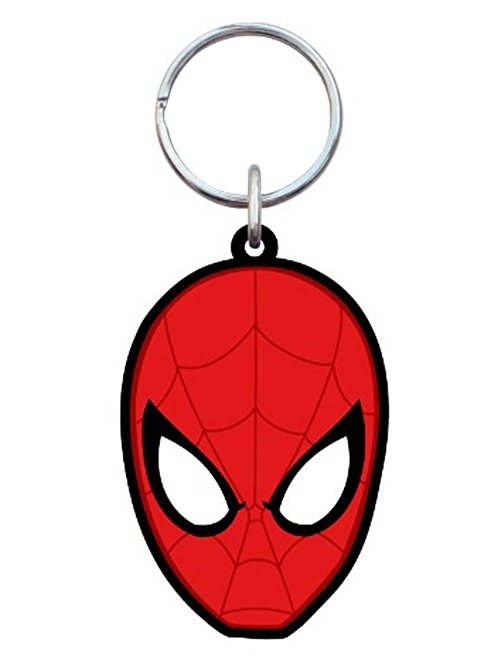 Monogram International Spider-Man Soft Touch Anahtarlık Renkli